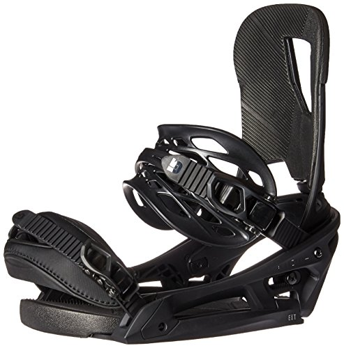 Burton Cartel EST Snowboard Bindings Black Matte Sz M (8-11)