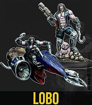 Knight Models - Tablero de mesa de Batman en miniatura: Lobo (multiverso): Amazon.es: Juguetes y juegos