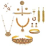 COMBO OFFER Full Bharatanatyam Dance Set +Ready jada +Flower's +Hair Ring+Payal