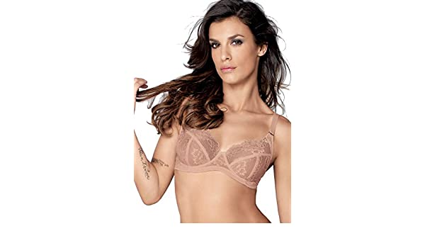 Lormar My Class Comfort Lace Bra at Amazon Women s Clothing store  aa1c7a1cf