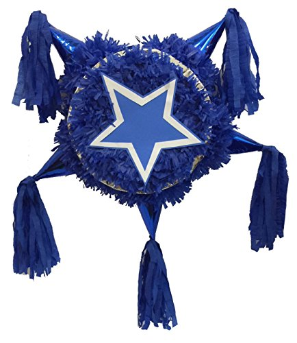 Lone Star Theme Traditional Pinata (Dallas Cowboys Pinata)