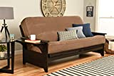 Kodiak Futons 760782 Full Size Futon in Espresso Finish, Brown