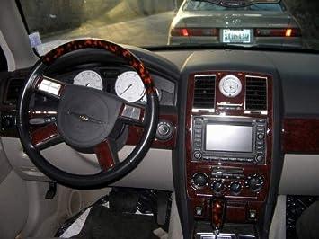 Amazon Com Chrysler 300 300c Hemi W Navigation Touring Interior Burl Wood Dash Trim Kit Set 2005 2006 2007 Automotive