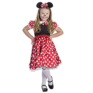 Dress Up America bambini affascinante Miss topo Costume 77a483c92aa