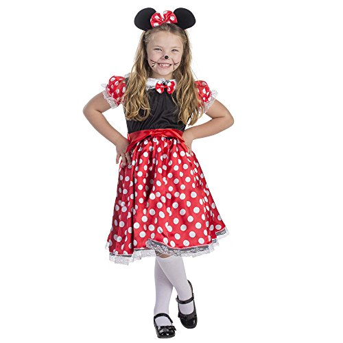 Charming Miss Mouse Costume - Size Large 12-14