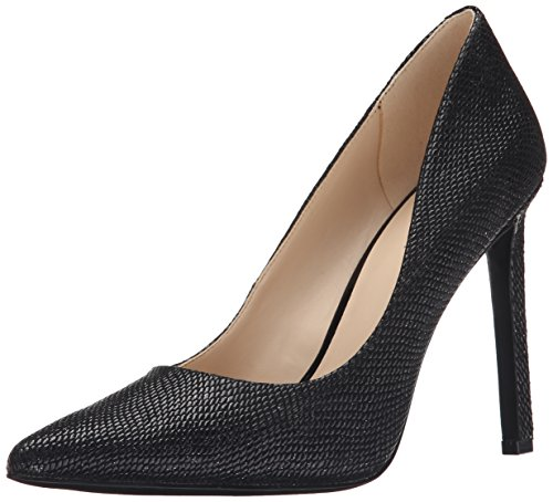 Nine West Nwtatiana20 - Shoes Black Shiny Reptile GC403byk3l