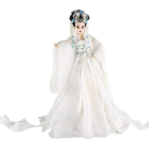 DoCori Muñeca China con Traje Antiguo de Seda Oriental ...