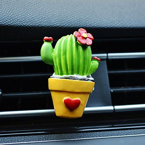 HSDDA Creative Cactus Car Perfume Outlet Clip Car Perfume Folder Car Air Conditing Perfume: Amazon.es: Jardín
