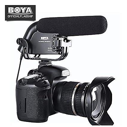 HATCHMATIC BOYA BY-VM190 Micrófono de Condensador de Escopeta ...