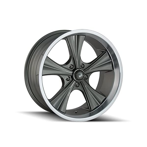 Ridler-651-GreyMachined-Lip-Wheel-Finish-18-x-8-inches-5-x-127-mm-0-mm-Offset