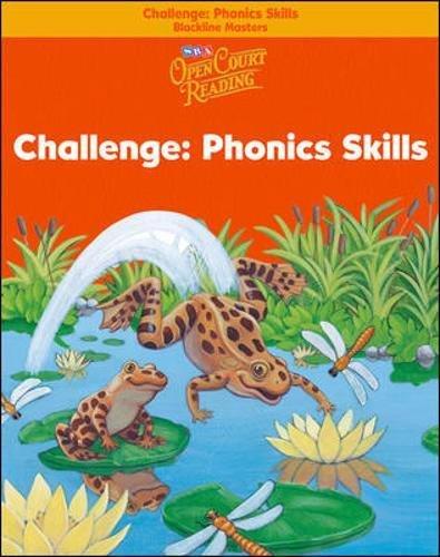 Open Court Reading - Challenge Blackline Masters - Phonics Skills - Grade 1