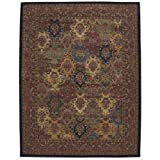 Nourison India House (IH23) Multicolor Rectangle Area Rug, 8-Feet by 10-Feet 6-Inches (8' x 10'6'')
