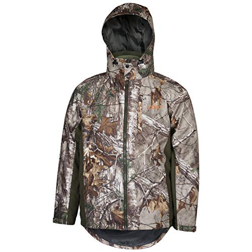 (HABIT Men's 4 in 1 Parka, RT Xtra/Night Forest, X-Large)