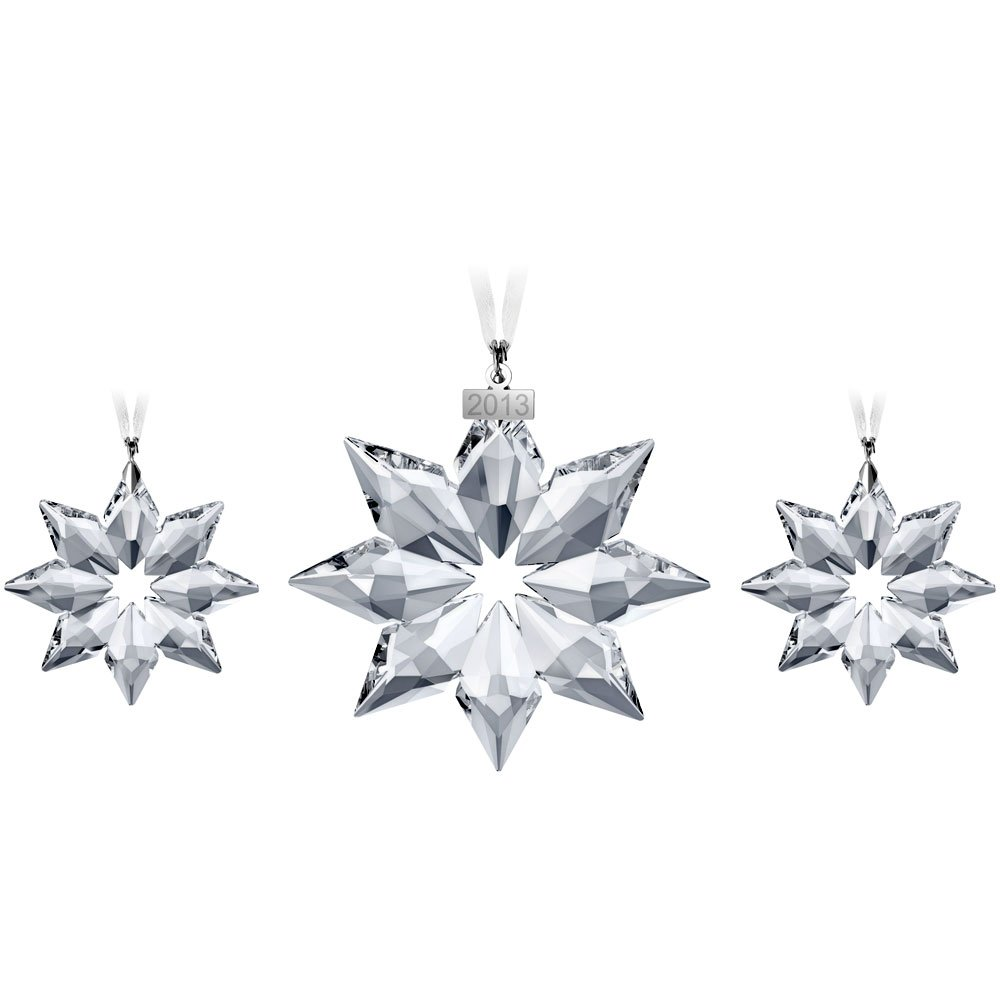 Swarovski Christmas Ornament Set 2013