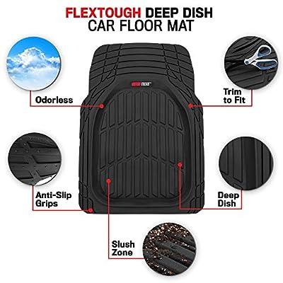 Motor Trend MT-934-BG Motor Trend All Season Deep Dish Rubber Floor Mats