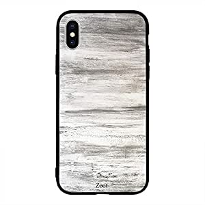 iPhone XS Wood Pattern White And Grey