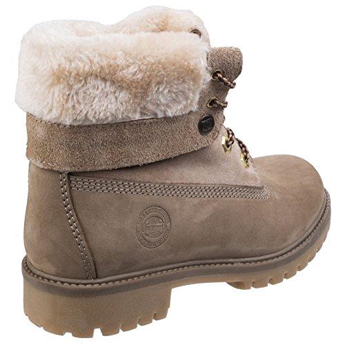 Resistant Ladies Boots Darkwood Water Womens Walking Warm Ankle Walnut q5wwIf