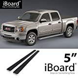 5 inch running boards - Off Roader for 2007-2018 Chevy Silverado/GMC Sierra Crew Cab (Nerf Bar | Side Steps) 5