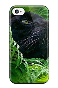New Style JeffreySCovey Panther Premium Tpu Cover Case For Iphone 4/4s