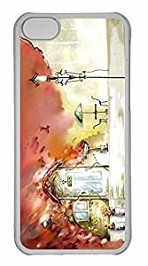 iPhone 5C Case, Personalized Custom Autumn Scenes 10 for iPhone 5C PC Clear Case by mcsharks