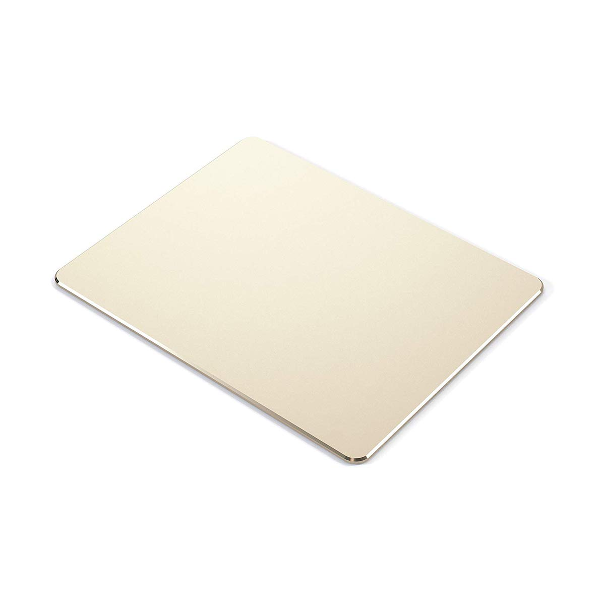 Thin Hard Mouse Pad Aluminum Alloy Mouse Pad Winter and Summer Dual-Use Waterproof Antiski Matte Metal//High-Grade PU Leather Mouse Pad Rose Gold, 8.7X7.1
