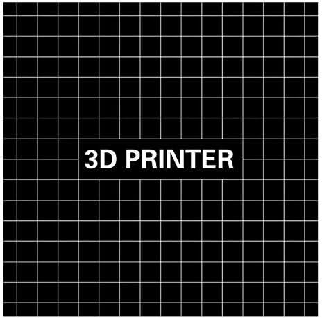 Beauneo Plate-Forme De Lit Chauffante pour Imprimante 3D,Substrat en Aluminium De Lit Chaud 400x400mm Autocollant Mat De La Plateforme D 3D pour Cr-10S