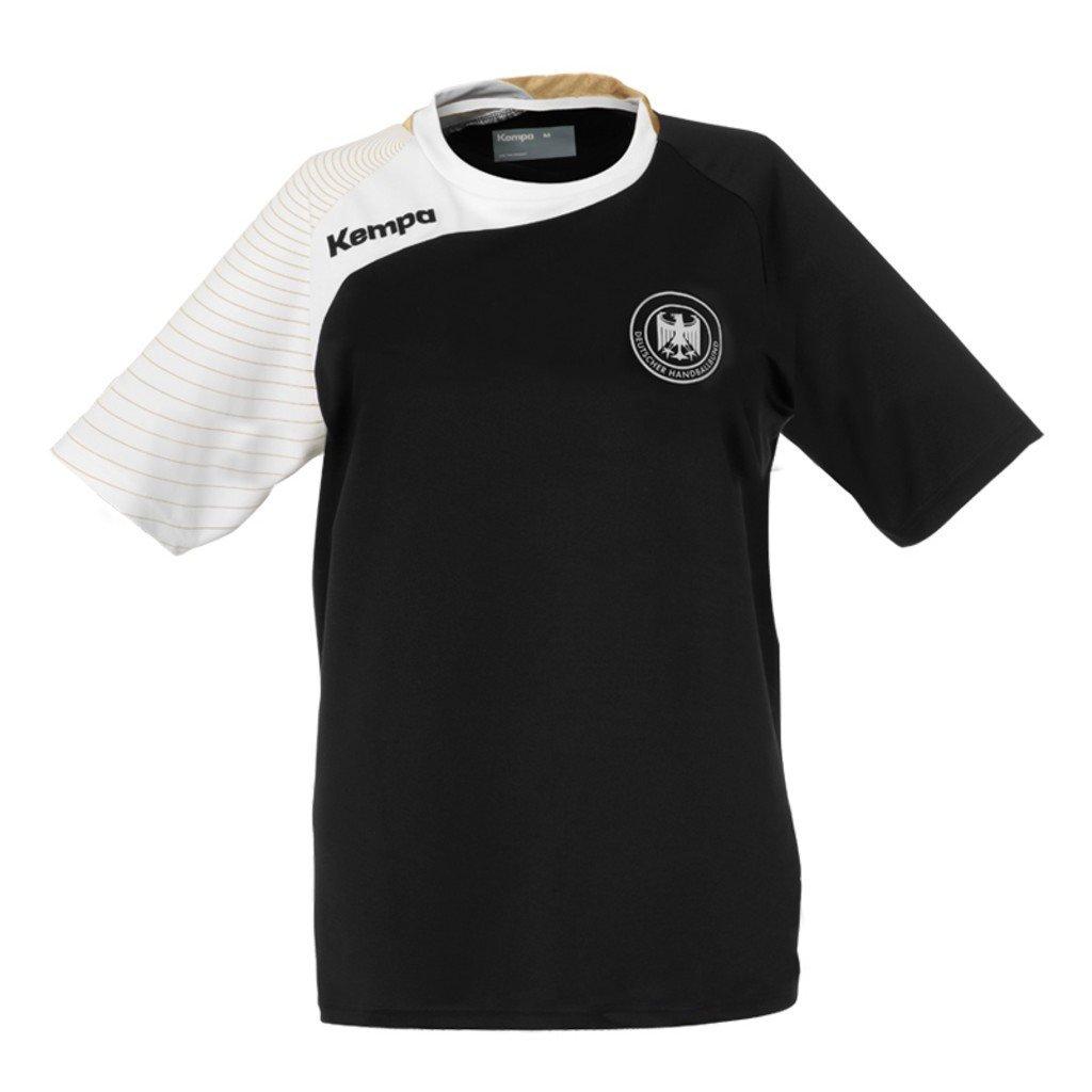 Todo el a/ño tama/ño XS Kempa T-Shirt DHB Circle replika Negro Unisex Color Negro