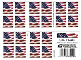 Toys : USPS US Flag 2017 Forever Stamps - Book of 20