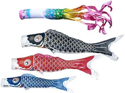 東旭 鯉のぼり ベランダ用 手すり化粧箱セット 手すり取付タイプ 2m鯉3匹 優輝 桜風吹流し 日本の伝統文化 こいのぼり