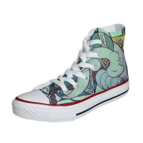 Customized et mys Handmade Chaussures Imprimés Artistique Unisex Personnalisé Produit Converse 5xwSqg7