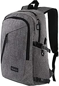 amazon com laptop backpack travel computer bag for women men