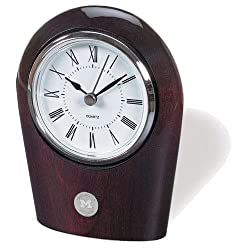 Michigan Wolverines Palm Desk Clock