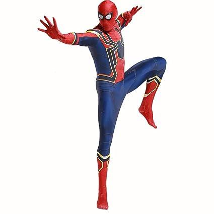 TOYSGAMES Cosplay Steel - Spider-Man Costume Adulto Elástico ...
