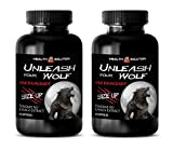 sexual enhancement pills fast acting - UNLEASH YOUR WOLF - SIZE UP - MALE ENHANCEMENT - maca extract - 2 Bottles (120 Capsules)