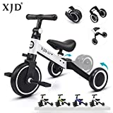XJD 3 in 1 Kids Tricycles for 1-3 Years Old Kids