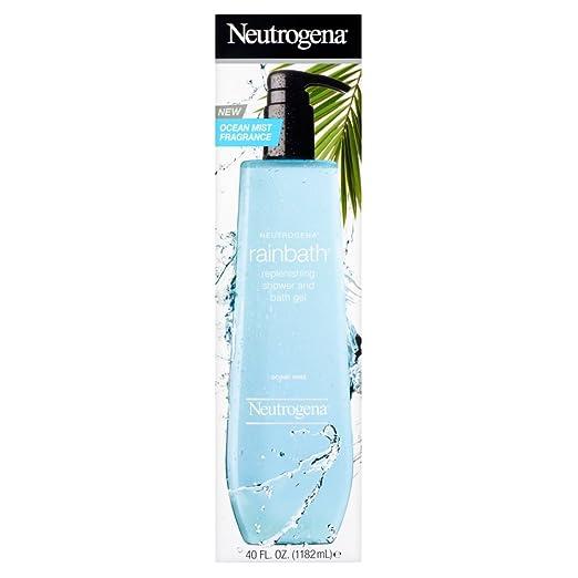 Neutrogena Rainbath Replenishing Shower and Bath Gel, Ocean Mist, 40 fl.oz.