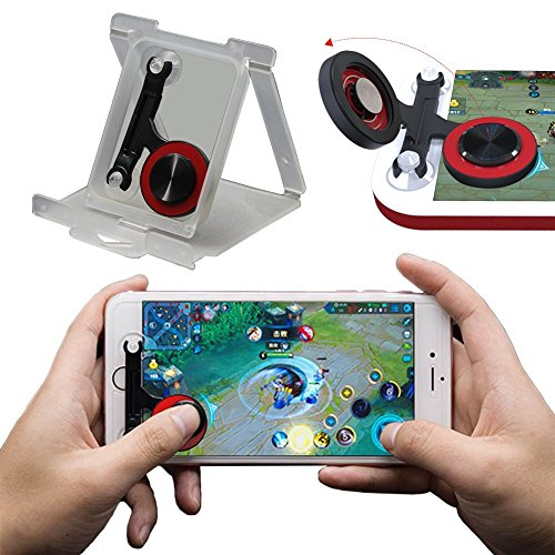 Mobile Game Controller [Upgrade Version] - WeeDee Fortnite PUBG Mobile Controller with Gaming Trigger,Gaming Grip and Gaming Joysticks for 4.5-6.5inch Android iOS Phones by WeeDee (Image #4)