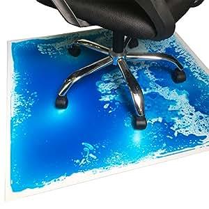 Amazon Com Liquid Encased Office Chair Mat For Carpet
