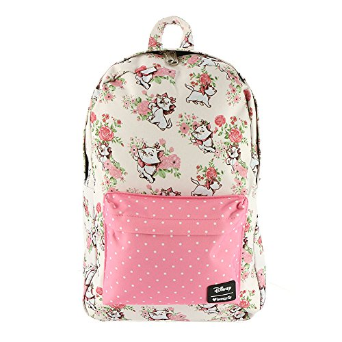 Loungefly x Disney Marie Floral AOP Backpack (One Size, Multi)