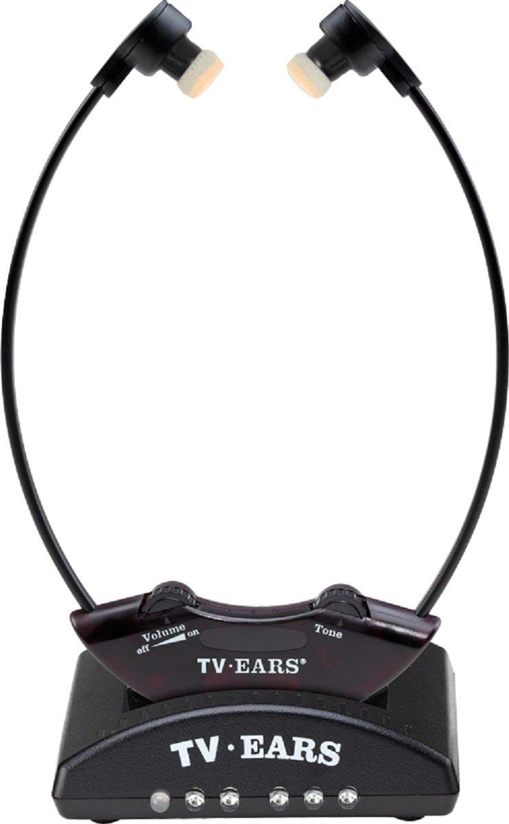 TV Ears 330-0123 2.3 Wireless Headset System, Black