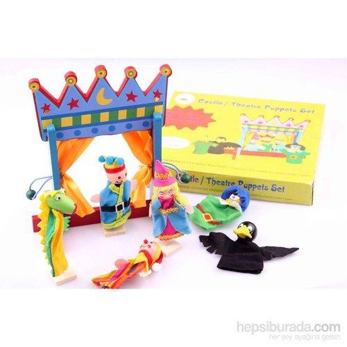 Serra Baby Wooden Puppet Theater Set (Wooden Puppet Set Theater)