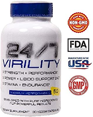 Sản phẩm 247 Virility Testosterone Booster Improved Increase