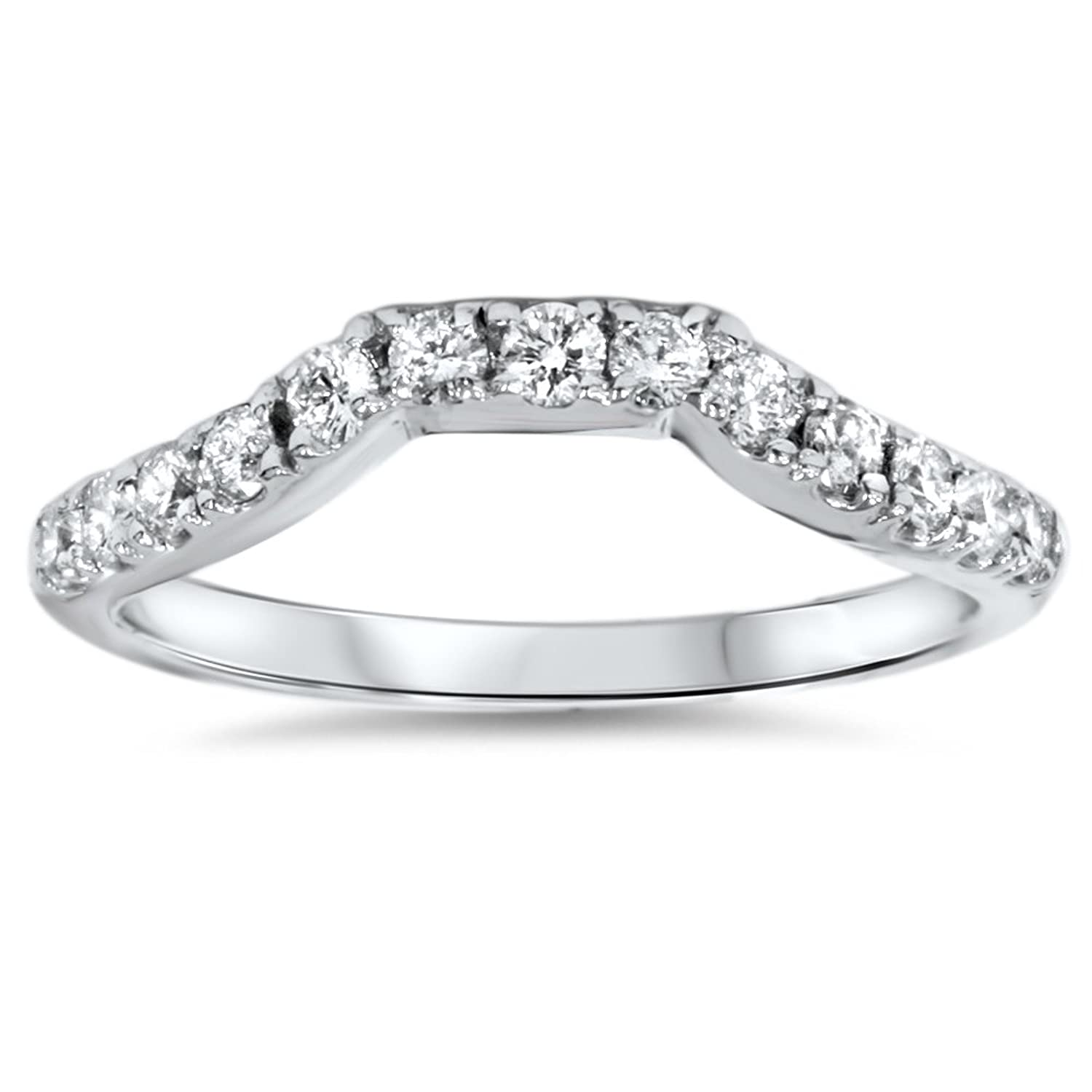 jewelry round ben in jeweler diamond band bridge baguette carat anniversary platinum ring bands