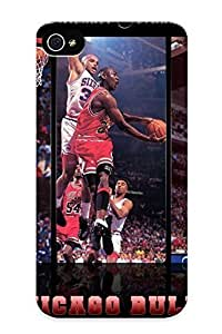 Christmas Day's Gift- New Arrival Cover Case With Nice Design For Iphone 4/4s- Nba Michael Jordan Chicago Bulls Basketball