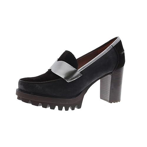 PEDRO MIRALLES Mocasines Marrones Tacón 29450: Amazon.es: Zapatos y complementos