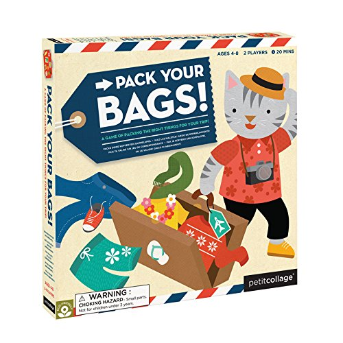 Petit Collage Pack Your Bags A Hilarious and Action-Packed Family Board Game