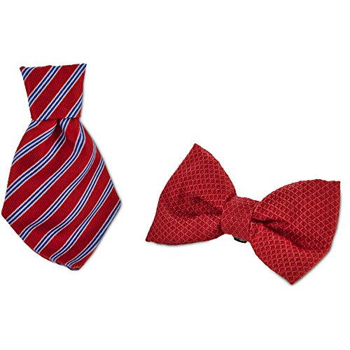 Standard Bows (Bond & Co. Red Bowtie 2 Pack, Standard)