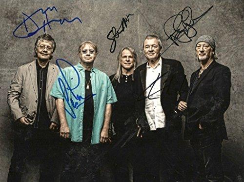 Deep Purple Rock Band autographs, signed - Berlin Band Members
