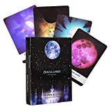Oracle Cards,Moonology Oracle Cards,Games Cards for Board Game 44 Sheets,Release Your Greatness in This Game of Heart Opening and Soul Evolution.