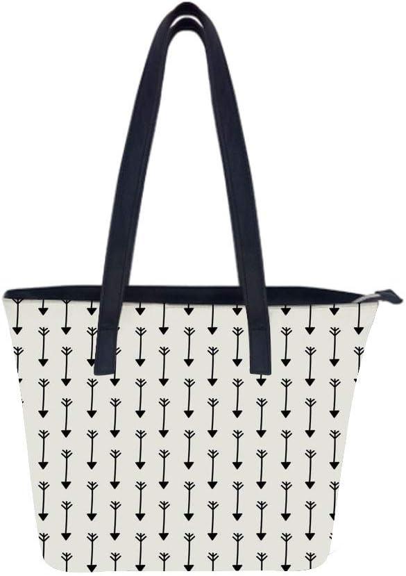 Arrow Horizontal Style Women Leather Laptop Tote Office Shoulder Handbag Computer Briefcase